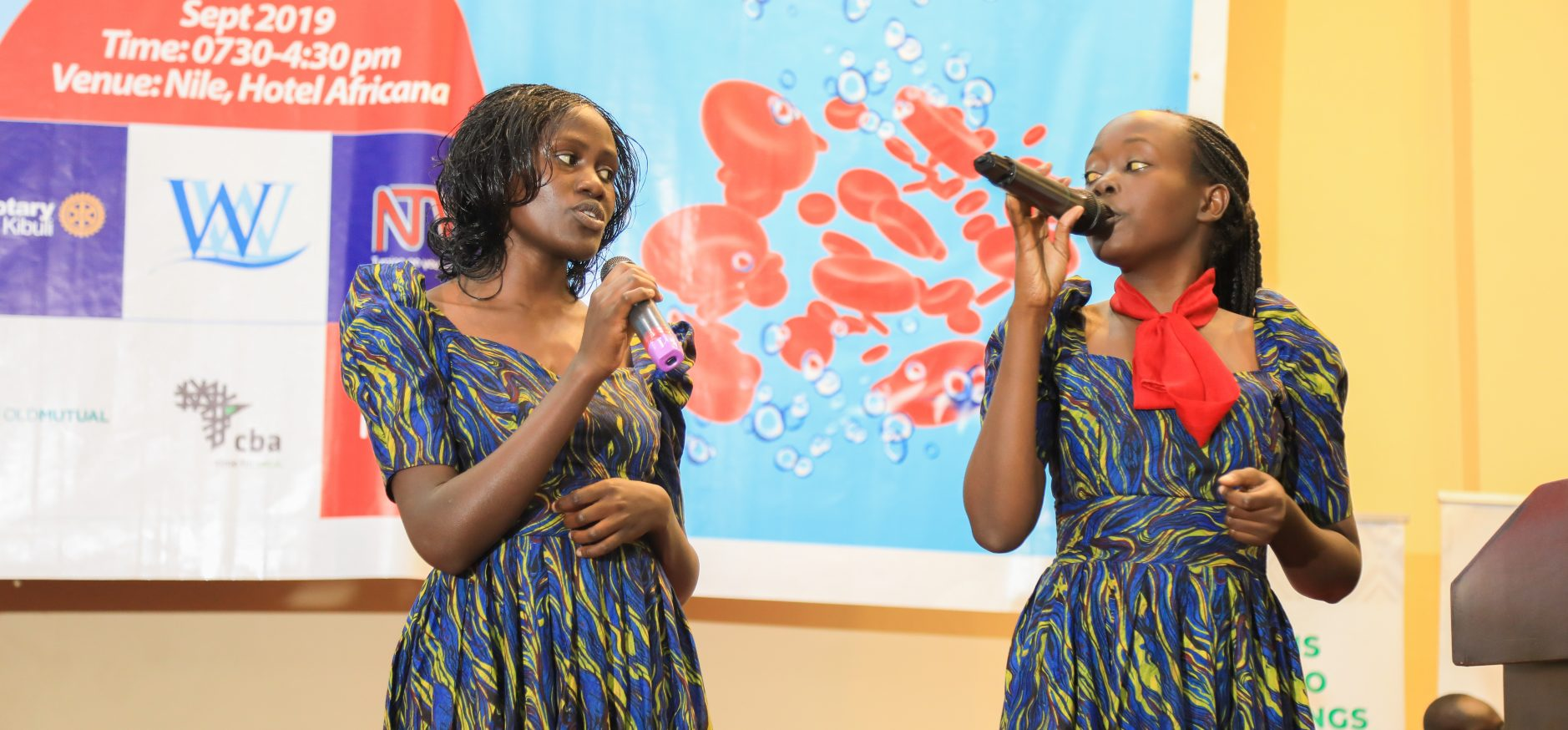 SC WORRIORS ENTERTAINING THE GUESTS AT THE 5TH SICKLE CELL CONFERENCE